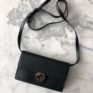 GUCCI 'Icon' wallet on strap